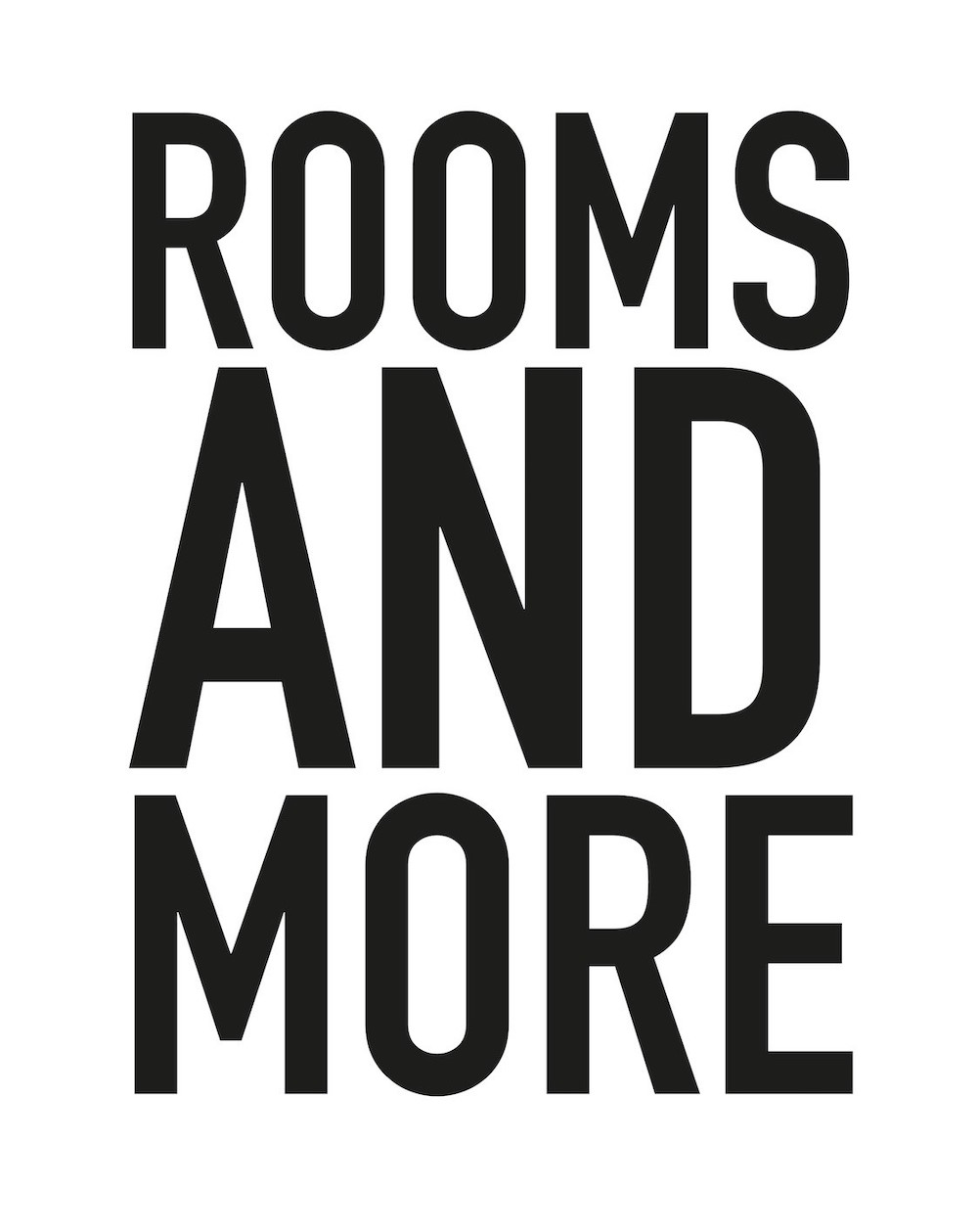 Rooms and more