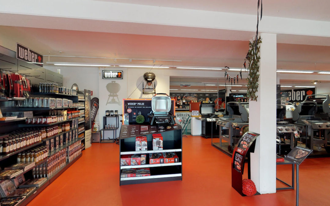 360.ITleague im Weber Flagship Store in der Umgebung Rhein Main